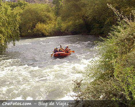 Rafting en el Atuel, Valle Grande