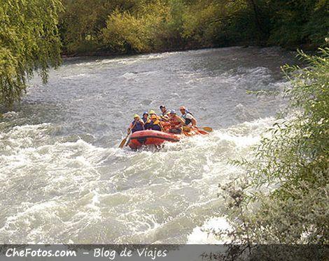 Río Atuel, San Rafael, Rafting