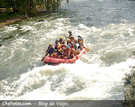 Rafting en Argentina, Mendoza, El Atuel