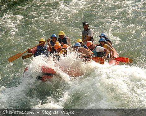 Rio Atuel, Rafting en Mendoza