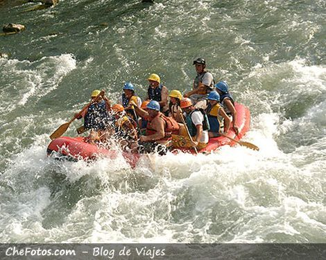 Turismo Aventura Mendoza, Rafting
