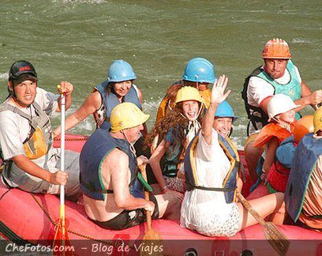Valle Grande, El Atuel, Rafting Mendoza