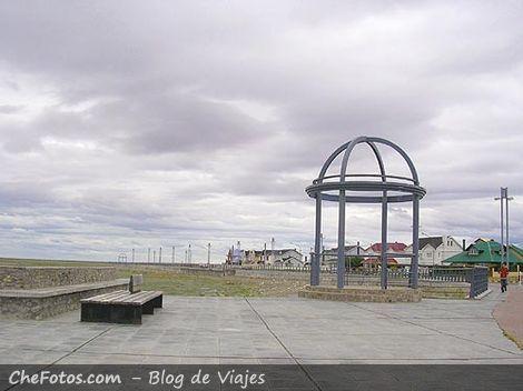 La ría, costanera de Río Gallegos