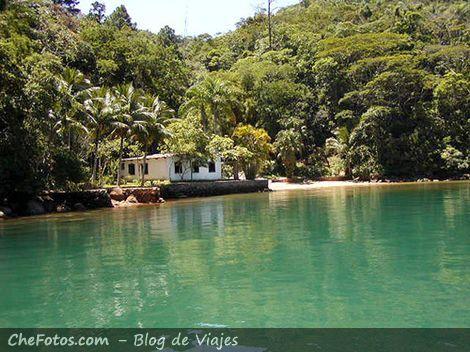 Saco do Céu, romántica Ilha Grande