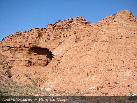 Cerros y paredones del Parque Las Quijadas