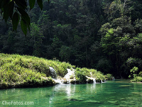 Cascadas Semuc Champey
