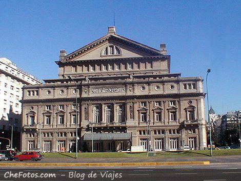 Foto del edificio del Teatro Colón