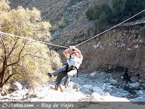 Salto de Tirolesa en Tandem, Merlo