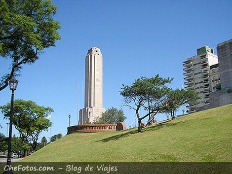La torre del Monumento Nacional a la Bandera