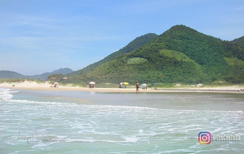 Las playas de Garopaba, Brasil