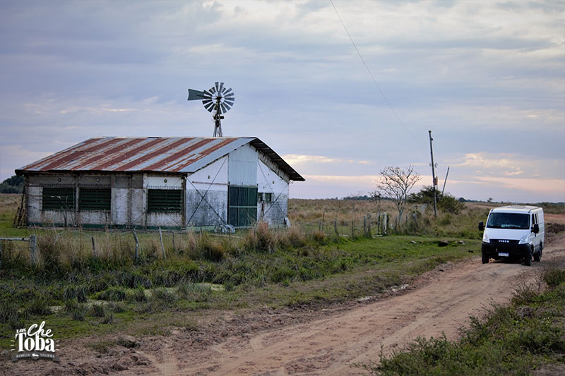 Camino a Colonia Carlos Pellegrini, Corrientes 13
