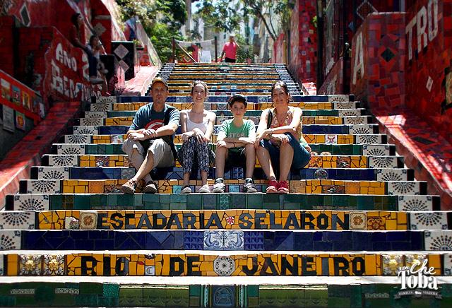 Escadaria de Selaron Rio de Janeiro