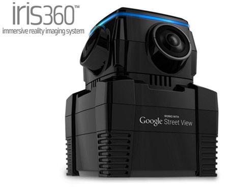 Camara iris360 Google Street View