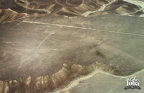 Figuras en el desierto de Nazca - Perú
