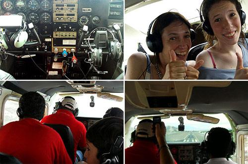 Aviones sobrevuelo Líneas de Nazca