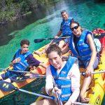 En kayak por los ríos cristalinos de Weeki Wachee, Florida