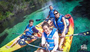 Navegar en kayak cerca de Orlando. Los Springs de la Florida 18