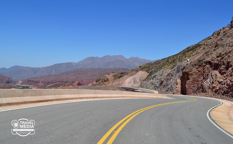 Nueva Cuesta de Miranda #Ruta40 en La Rioja 2
