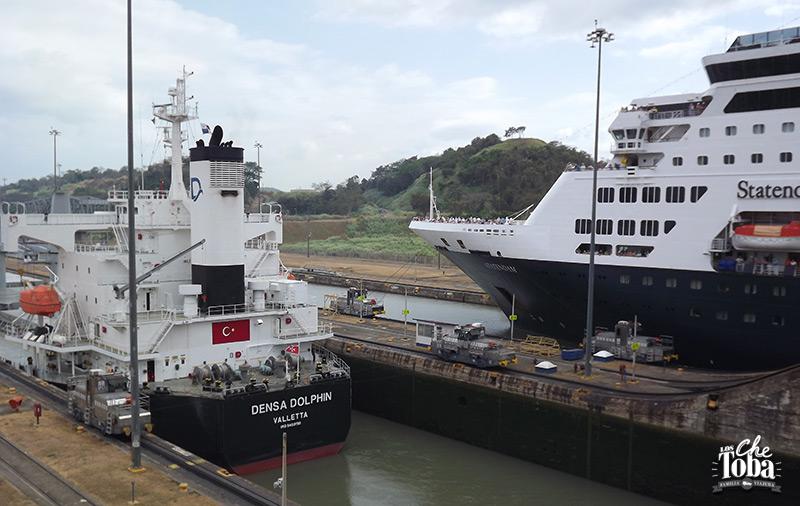 Excursión al canal de Panamá