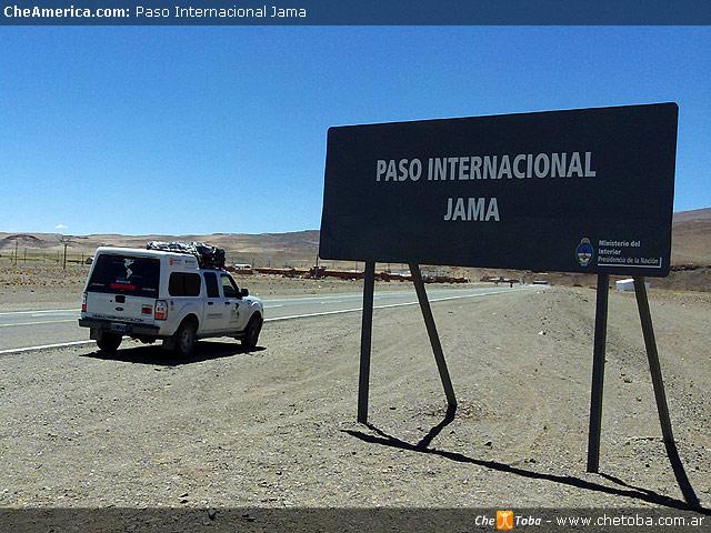 Información sobre el estado de pasos fronterizos Argentina