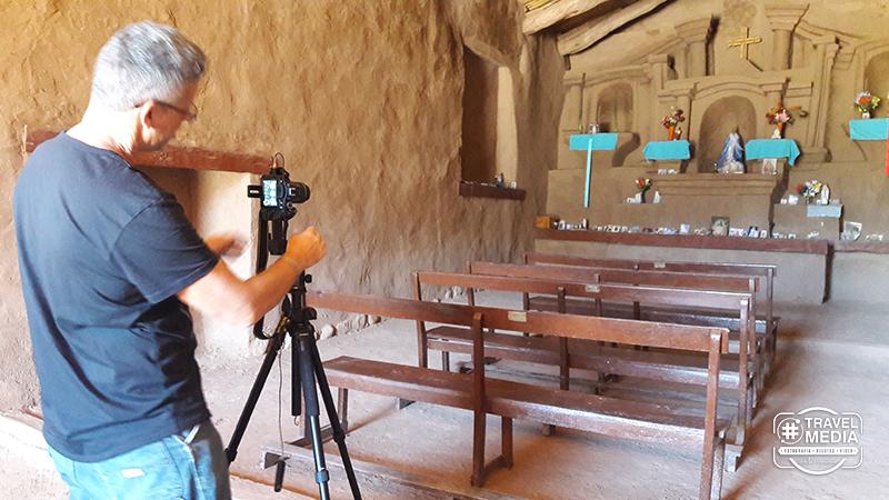 La iglesia de Anillaco en Catamarca