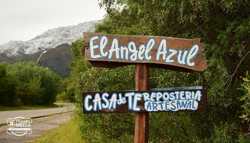 El Ángel Azul, Casa de Té en Merlo, San Luis
