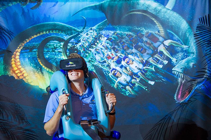 Las nuevas atracciones en SeaWorld Parks