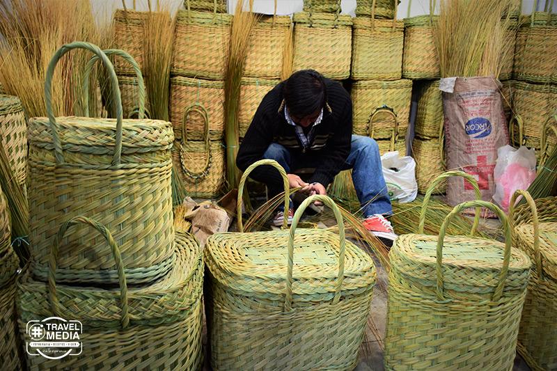Mimbre y cestería en Catamarca