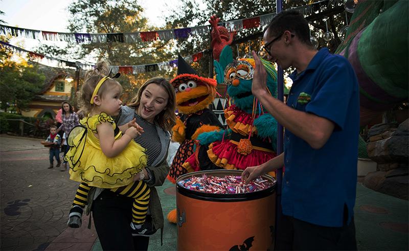 Halloween para chicos en Busch Gardens