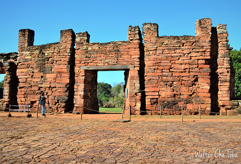 Las ruinas de San Ignacio Miní