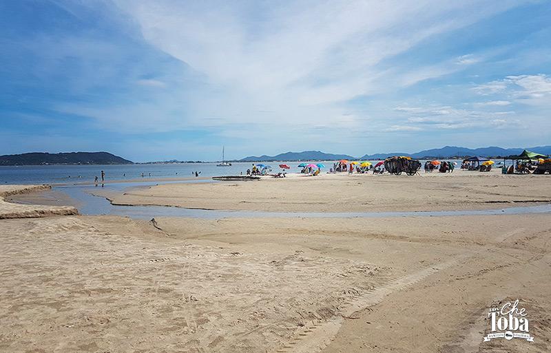 Ponta do Papagaio, Playa del Sur de Brasil