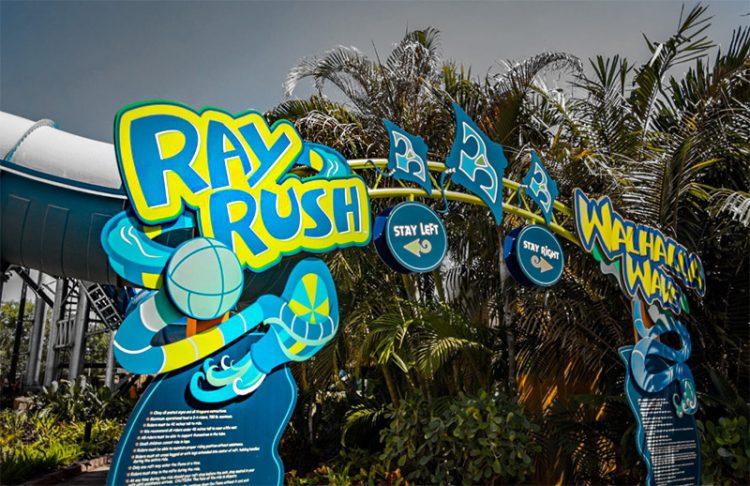 Ray Rush Aquatica - Orlando 10