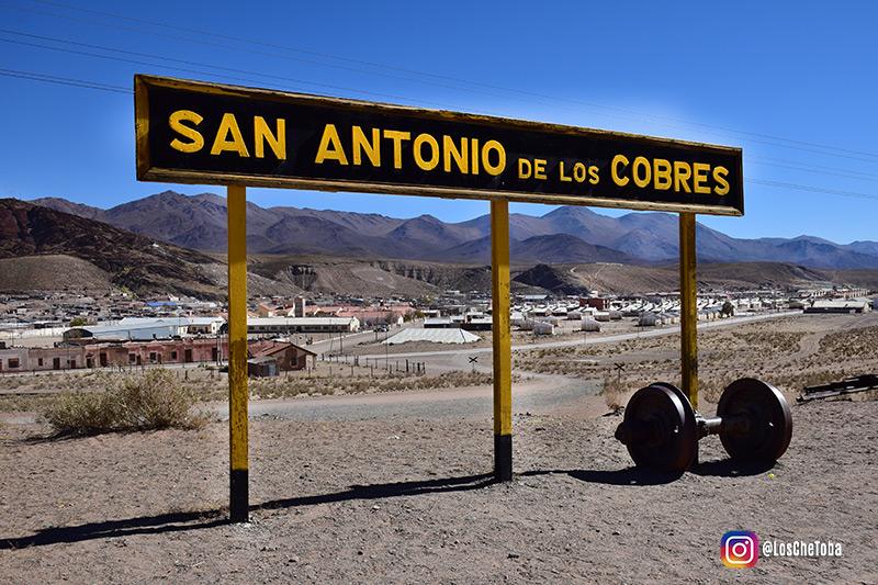 Estación tren de las nubes San Antonio de los Cobres