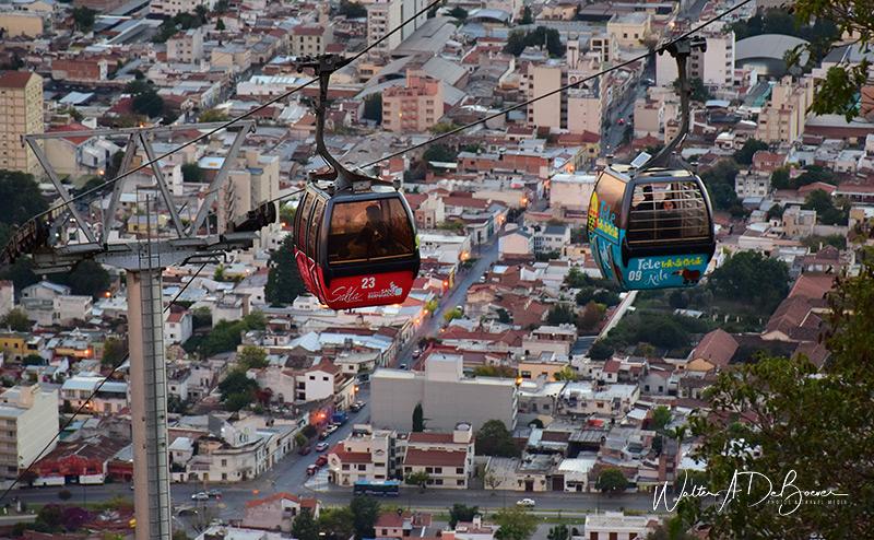 Excursión al Cerro San Bernardo en teleférico, Salta 2