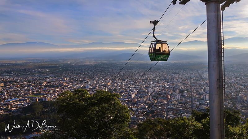Excursión al Cerro San Bernardo en teleférico, Salta 5