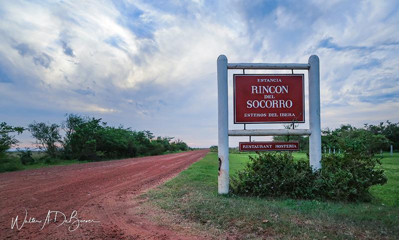 Camino de ingreso a Rincón del Socorro