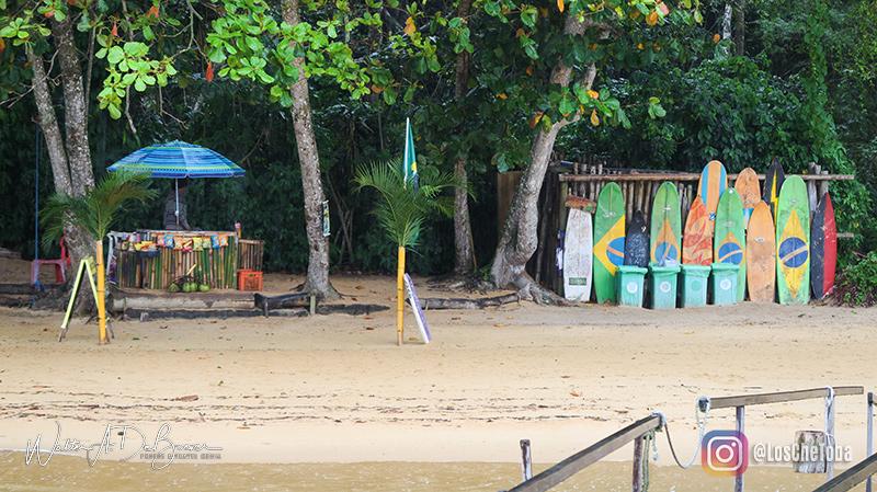 Bares en Playa Pouso