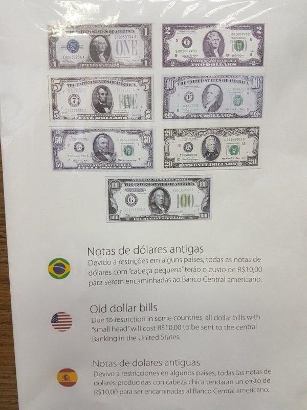 cambio dolares