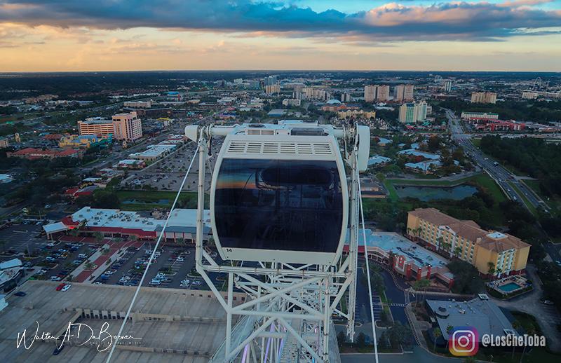 La rueda de Icon Orlando 360