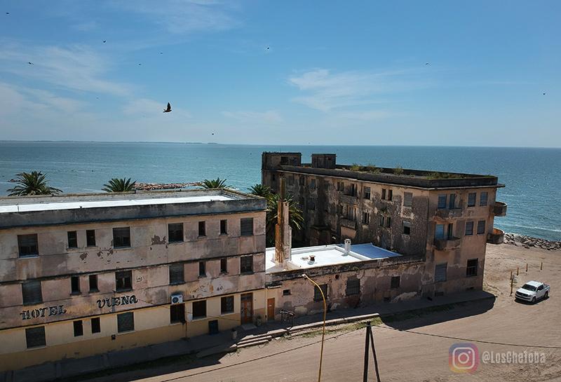 Hotel Viena, Hotel abandonado de Mar Chiquita