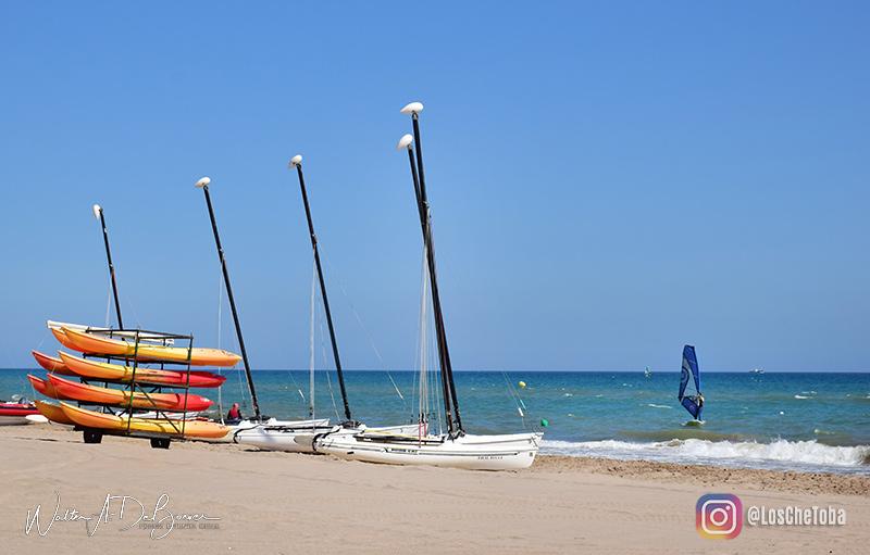 Lindas playas cerca de Barcelona