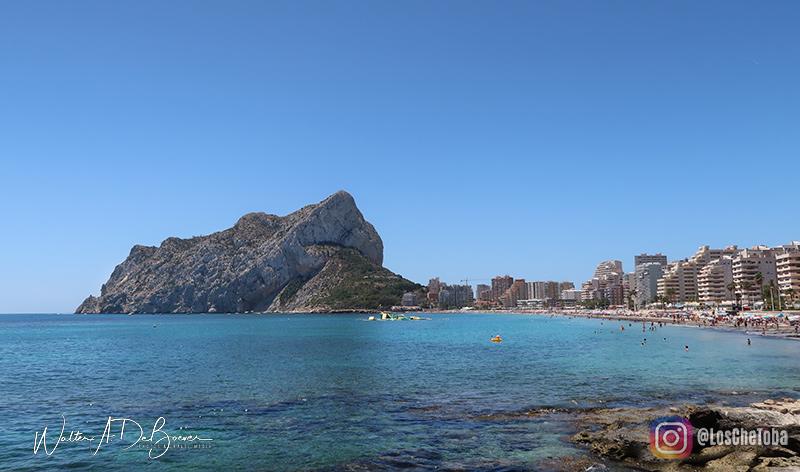Playa de Calpe, España