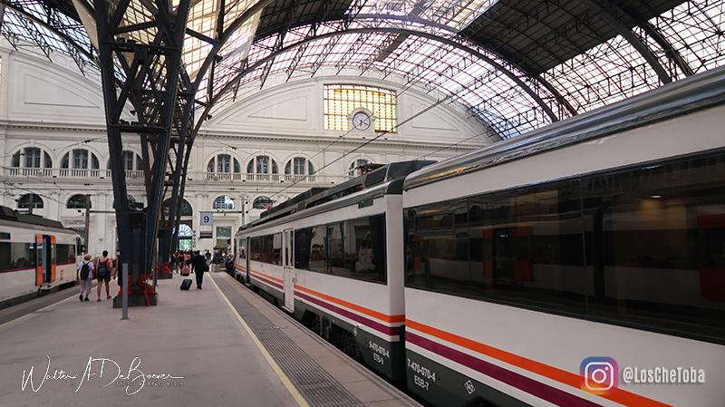 Trenes a Barcelona desde Castelldefels