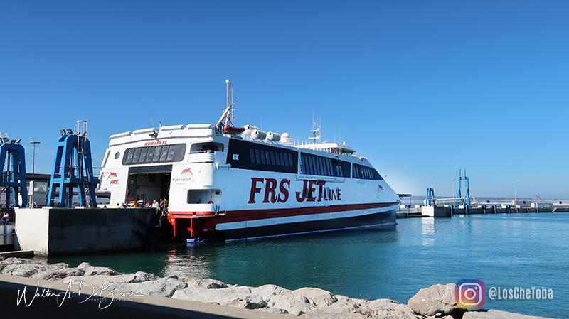 Ferry de Tarifa a Tánger
