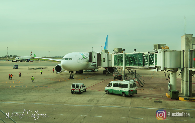 Level vuelo Ezeiza Barcelona