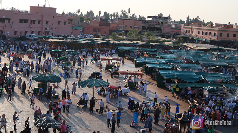 La plaza de Marrakech