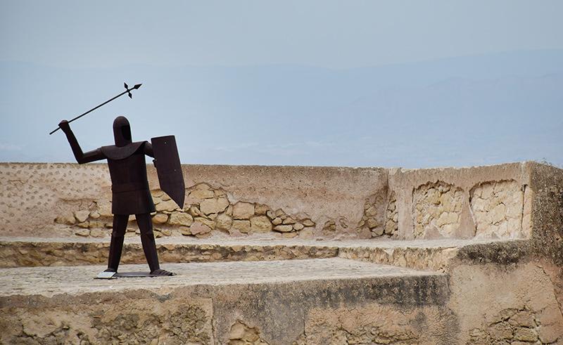 Castillo Alicante Santa Barbara