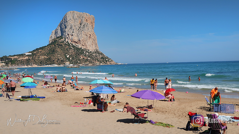 Playas de Calpe Alicante