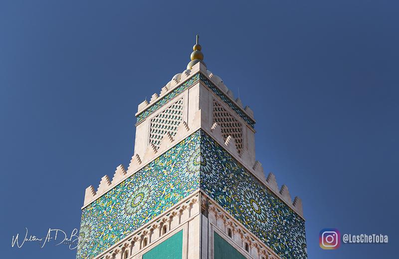 Minarete Mezquita Hassan II Casablanca