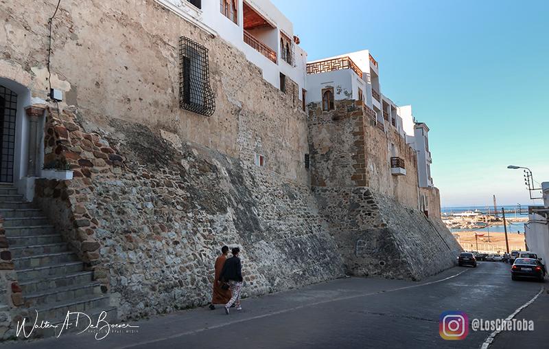 Calles medina de tánger